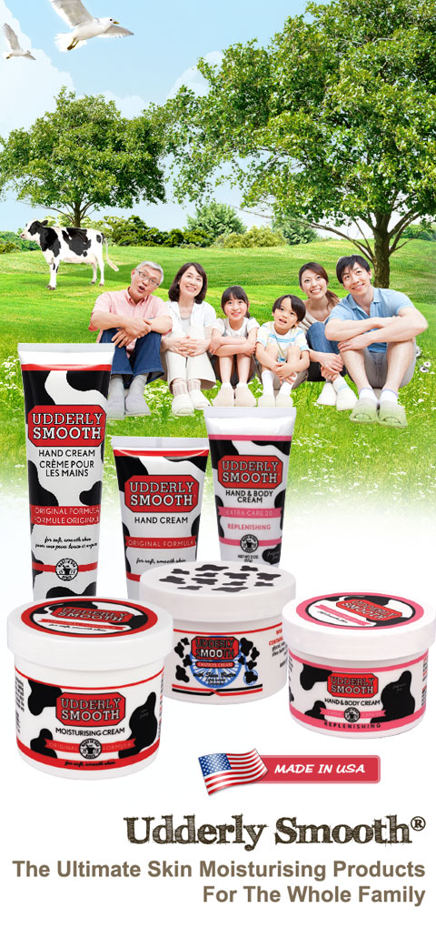 Udderly Smooth ~ The Ultimate Skin Moisturising Products For The Whole Family