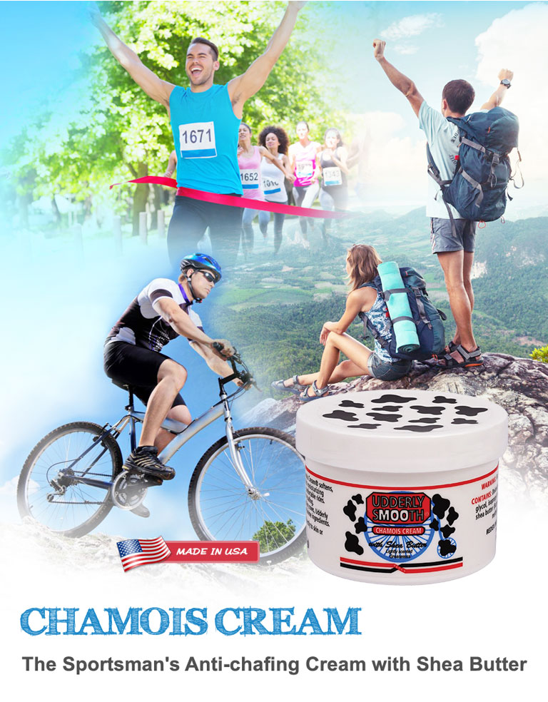 Chamois Cream ~ The Sportman's Anti-chafing Cream with Shea Butter